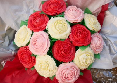 pink-white-red bouquet 2